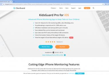 KidsGuard Pro for iOS - Aplikasi Monitoring Perangkat iPhone Paling Powerful